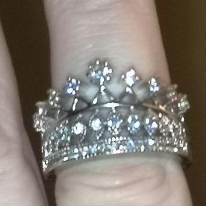 Princess Crown FRAGRANT JEWELS RING Sz 6